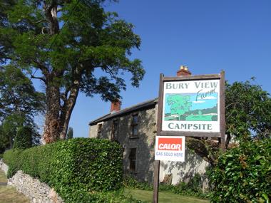 Bury View Farm Campsite Corston Fields, Bath,