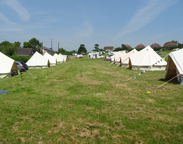 All tents now fully booked & Glampanology - Bath Bell Tents